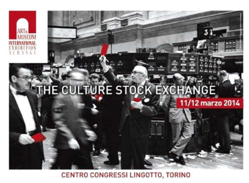 A Torino il nuovo Workshop della cultura: AMIEX ART & MUSEUM INTERNATIONAL EXHIBITION XCHANGE - The Culture Stock exchange
