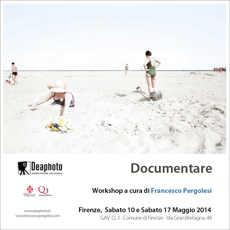 La Deaphoto di Firenze presenta il nuovo workshop DOCUMENTARE