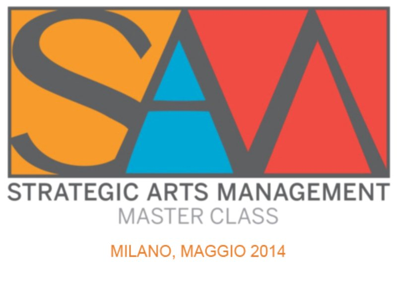 A Milano ledizione 2014 del Strategic Arts Management Master class