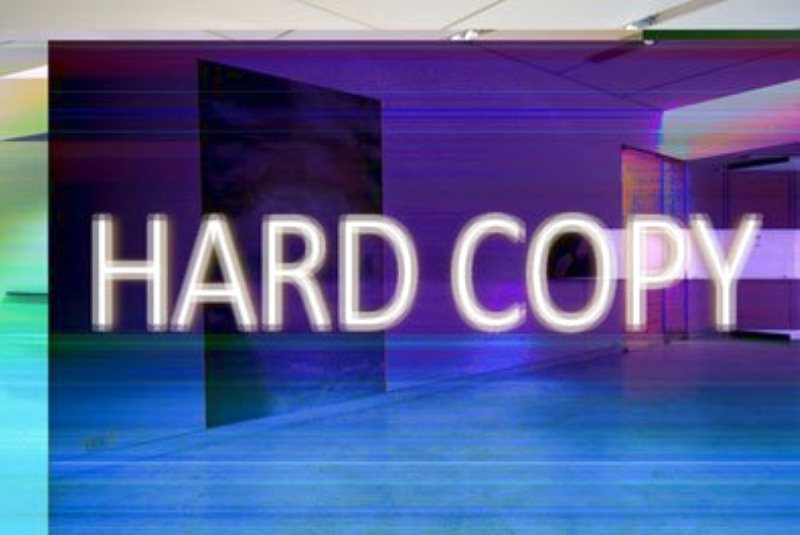 La Fondazione Pastificio Cerere presenta: HARD COPY