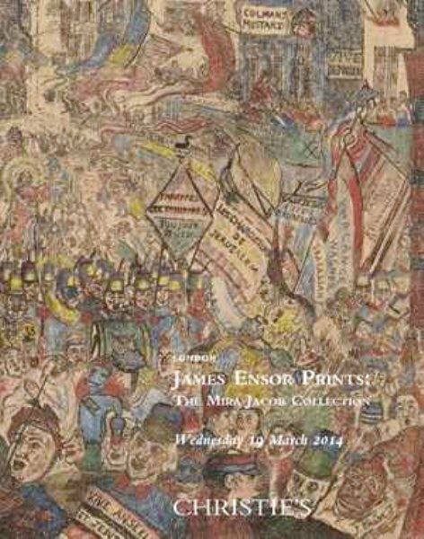 Christie's: in asta le stampe di James Ensor